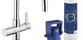 Grohe Red & Grohe Blue Kitchen Taps